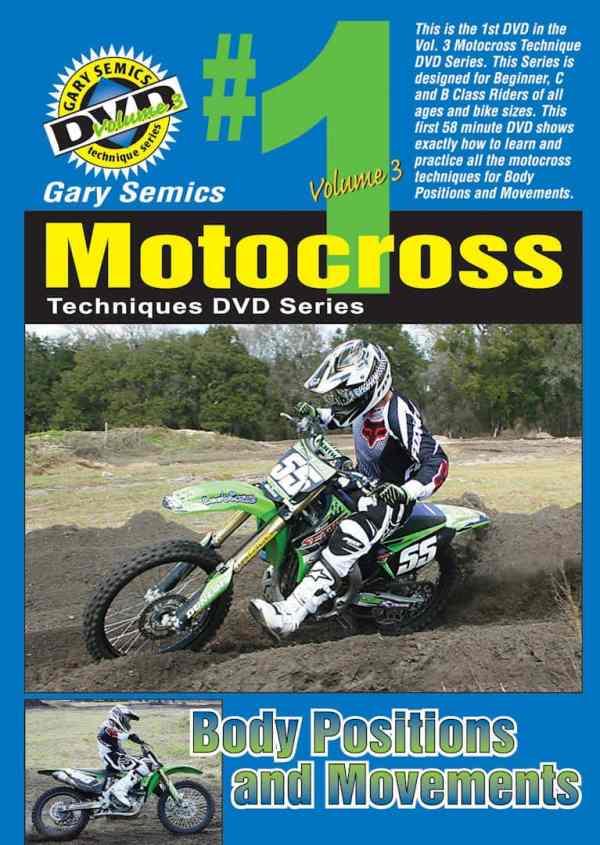 Motocross Body Positions Movements