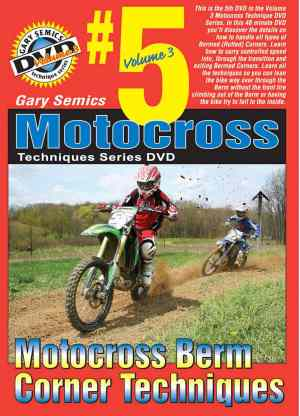 GSMXS MX Berm Corner Techniques front cover
