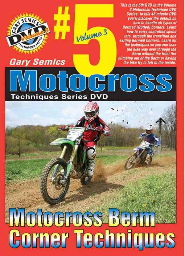 motocross rutted cornering