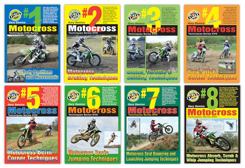 Lowest Priced Motocross DVDs by Gary Semics