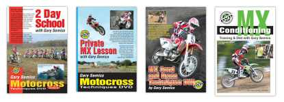 motocross techniques training dvds