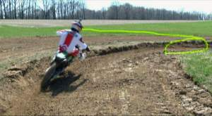 motocross corner speed control