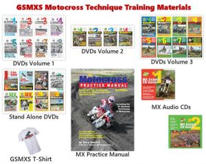 Motocross Techniques Training DVDs Everything Value Pack