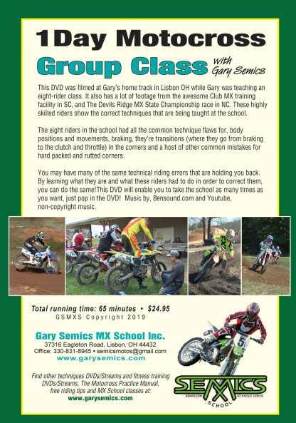 motocross school dvd