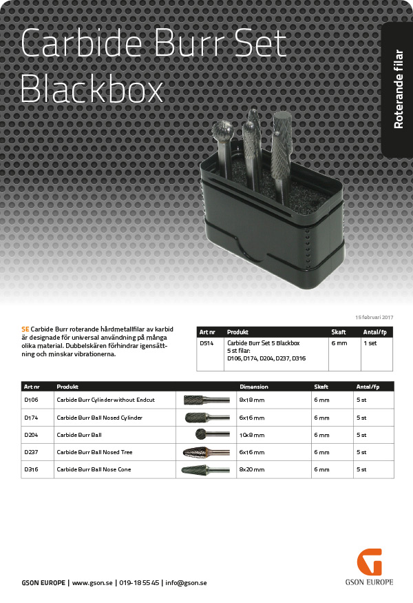 D505_515_Carbide_Burr Kit