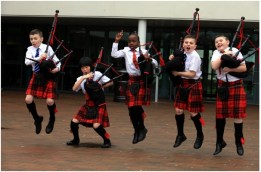 Govan Schools Pipers