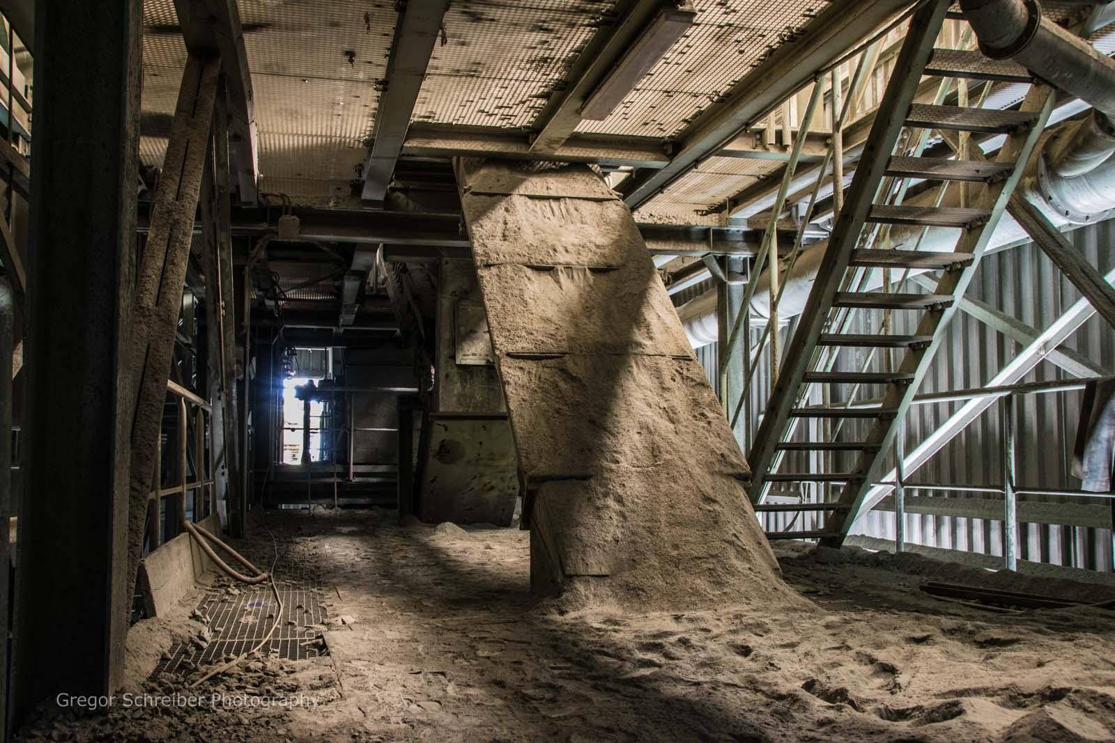 Lost Places - Stillgelegter Steinbruch