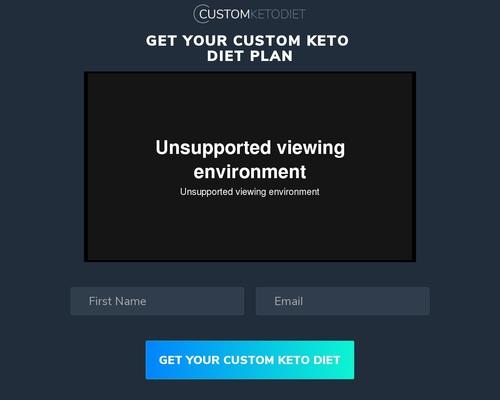 Custom Keto Diet Video