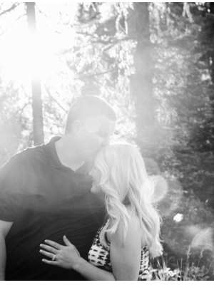 hyalite canyon engagement couple newlywed anniversary session montana wedding photographer
