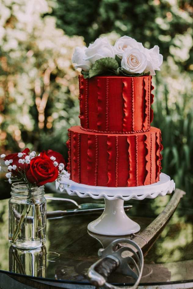 RichardsonCake 9 Seattle and Snohomish Wedding and Engagement Photography by GSquared Weddings Photography