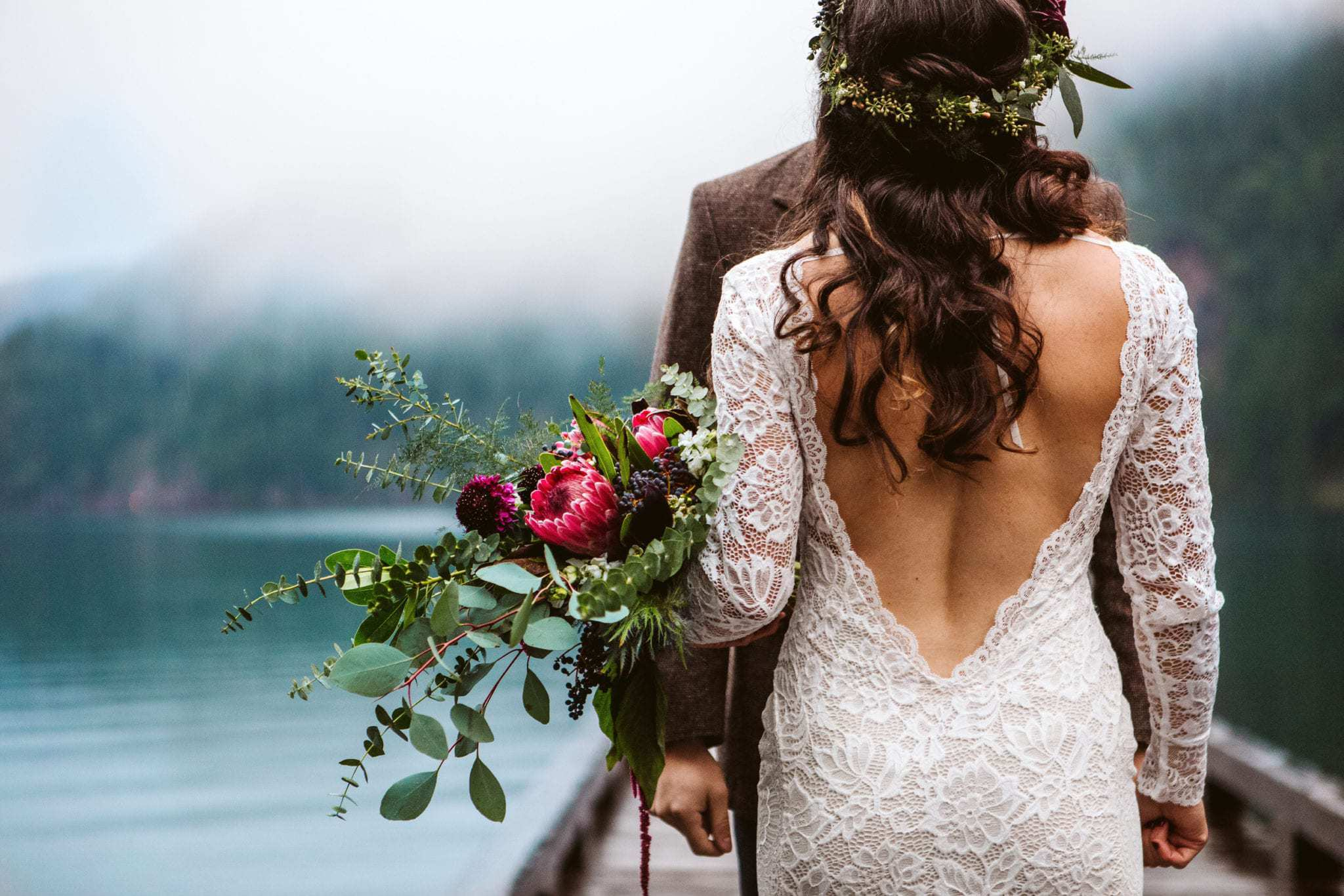 contest wedding details first place winner kate gansneder gsquared weddings seattle wedding photographer snohomish wedding lake crescent olympic national park elopement