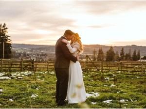 christmas wedding snohomish wedding by gsquared weddings photography