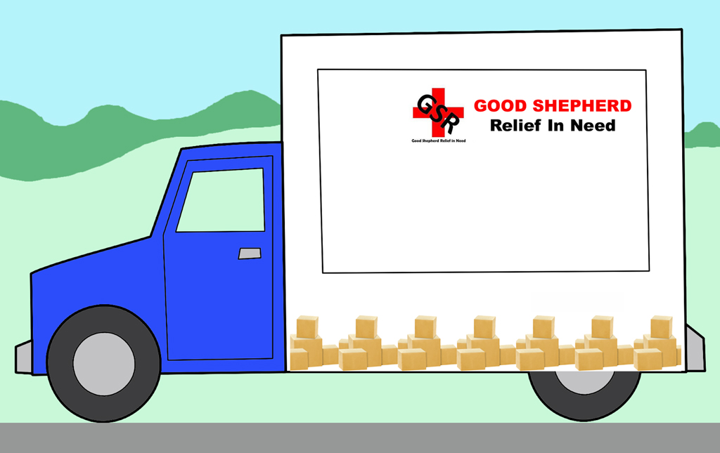 Good Shepherd Relief In Need - New Luton Van