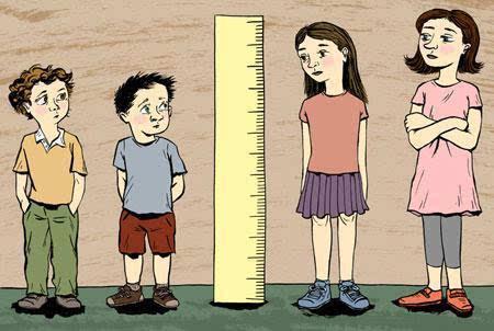 男女身高分別多少歲停止長高?_百度知道