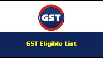 GST Eligible List