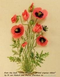 Poppies by Marina Zherdeva in Little Flowers book