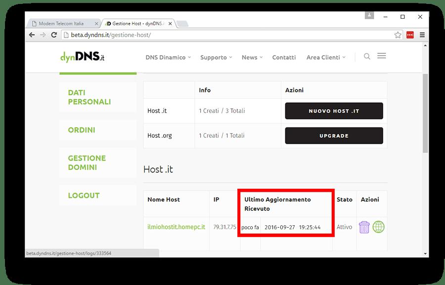 Configurazione dynDNS.it per TP-Link in modalità