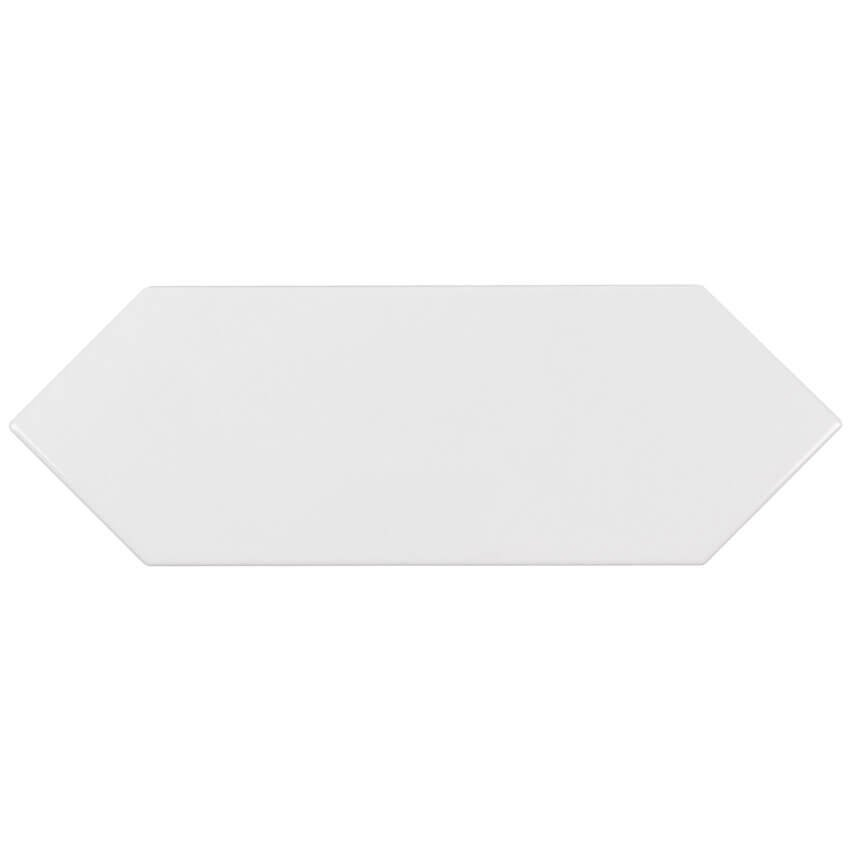 white picket 4 x 12 glossy from