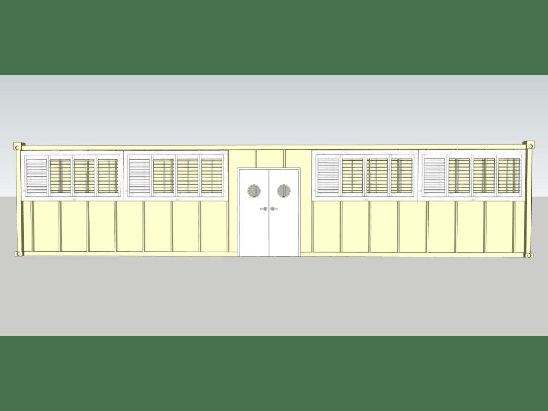 Sanitation Unit - Front