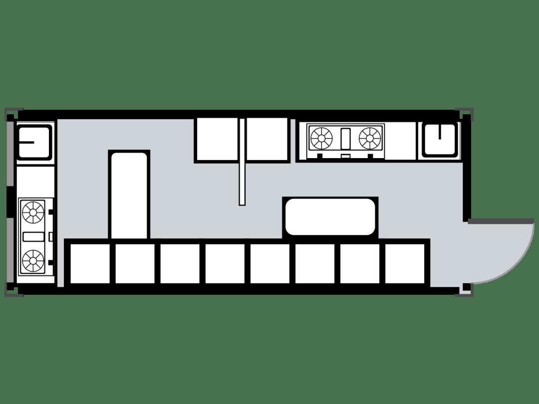Urban MultiHouse Kitchen Unit