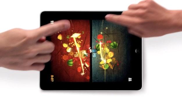 Fruit Ninja on iPad