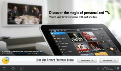Samsung Galaxy Tab Plus - Smart Remote