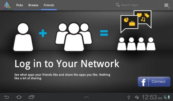Samsung Galaxy Tab Plus - Market & Network