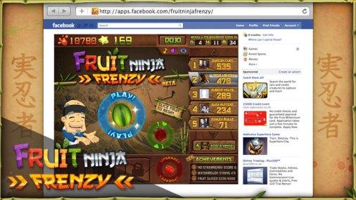 Fruit Ninja Frenzy (Facebook)