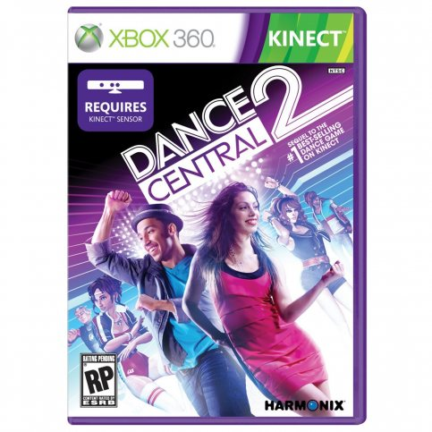 Dance Central 2 Xbox Kinect Cover