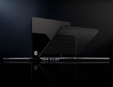 HP Envy 14 Spectr - Open View - Keyboard Reflection