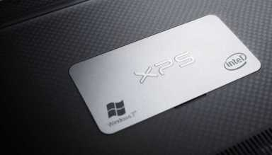 XPS 13 Notebook - Back Plate Detail