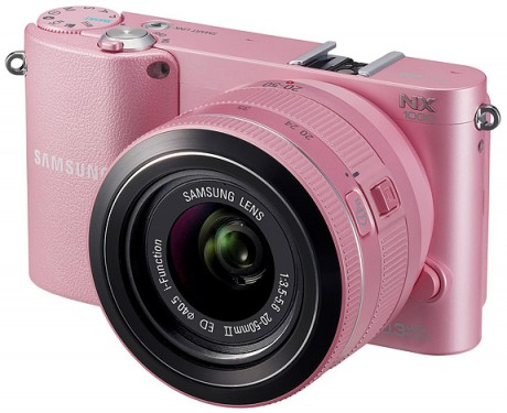 Samsung NX1000 Smart Camera - PINK