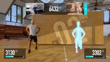 Nike+ Kinect Training - Game Activity