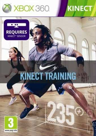 Nike+ Kinect Training - Game Cover