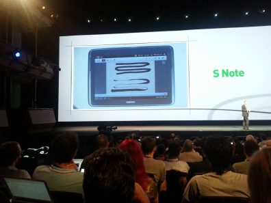 Samsung Galaxy Note 10.1 - S Note Pressure With S Pen