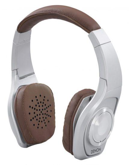 Denon Globe Cruiser Silver Headphones