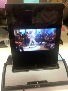 iHome iD55 Portable Stereo Speaker System - Watching Videos