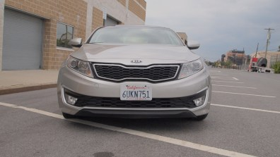 Kia Optima Hybrid – Review - G Style Magazine - exterior - grill - headlights - bumper