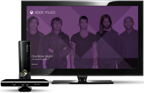 Xbox Music - Console Image