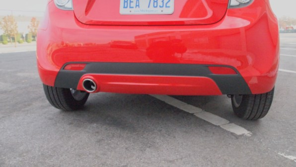 Chevy Spark 2 LT - G Style Magazine - Exterior - Rear / Back View Bumper 1