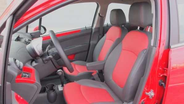 Chevy Spark 2 LT - G Style Magazine - REview - Auto - Car - Interior - Driver Passenger Seats
