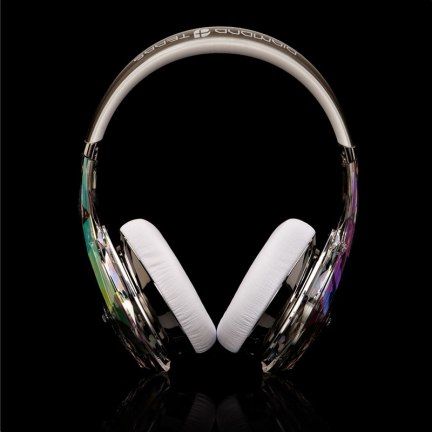 Monster - Diamond Tears Front View(White)