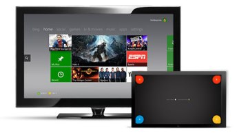 Xbox Smartglass App - Dashboard Navigation