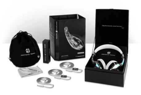 Monster Diamond Tears - What's In The Box - headphones - review - g style magazine - over the ear - on ear