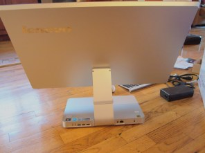 Lenovo IdeaCentre A720: An All In One PC - Back of Computer 1