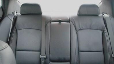 Kia Optima SXL – interior - rear seats - g style magazine