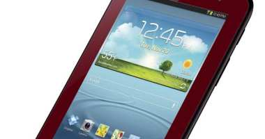 Samsung GALAXY TAB 2 7.0 - Garnet Red - Analie Cruz - G Style Magazine - Tech