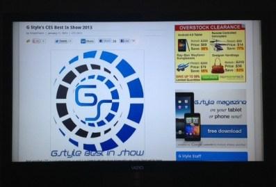 Vizio Co-Star Google TV - Chrome Internet Browswer 1
