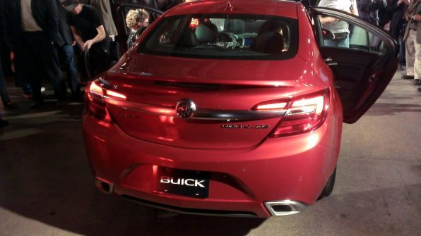 Buick - New York International Auto Show Rear