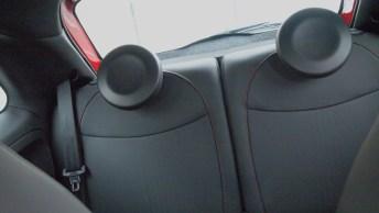 2013 Fiat 500 Abarth Driver Back Seat